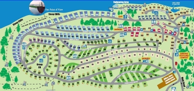 Living Forest Campground Map Welcome to the Living Forest Oceanside Campground + RV Park on